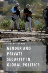 Gender and Private Security in Global Politics