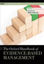 Oxford Handbook of Evidence-Based Management
