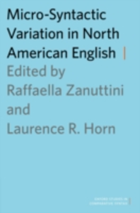 Ebook in inglese Micro-Syntactic Variation in North American English -, -