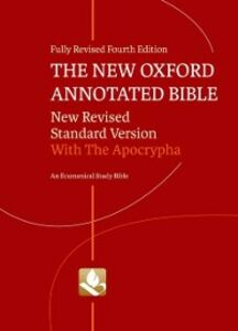 Ebook in inglese New Oxford Annotated Bible with Apocrypha: New Revised Standard Version -, -