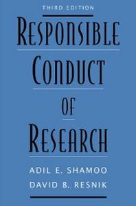 Ebook in inglese Responsible Conduct of Research Resnik, David B. , Shamoo, Adil E.