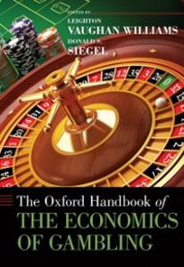Ebook in inglese Oxford Handbook of the Economics of Gambling -, -