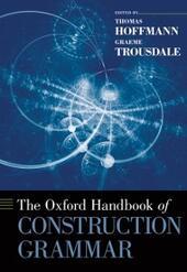 Oxford Handbook of Construction Grammar