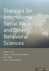 Statistics for International Social Work And Other Behavioral Sciences