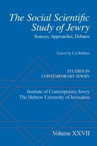 Ebook in inglese Social Scientific Study of Jewry: Sources, Approaches, Debates -, -
