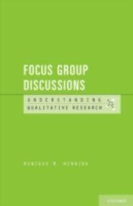 Ebook in inglese Focus Group Discussions Hennink, Monique M.