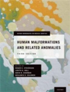 Foto Cover di Human Malformations and Related Anomalies, Ebook inglese di  edito da Oxford University Press