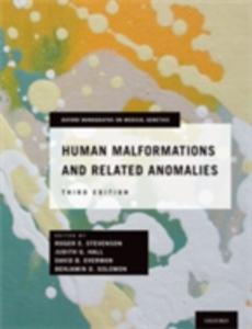 Ebook in inglese Human Malformations and Related Anomalies -, -