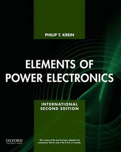 Elements of Power Electronics - Philip Krein - cover