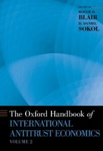 Foto Cover di Oxford Handbook of International Antitrust Economics, Volume 2, Ebook inglese di  edito da Oxford University Press