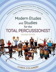 Modern Etudes and Studies for the Total Percussionist - Chris Colaneri - cover
