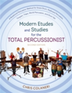 Ebook in inglese Modern Etudes and Studies for the Total Percussionist Colaneri, Chris