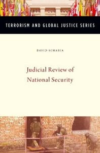 Ebook in inglese Judicial Review of National Security Scharia, David