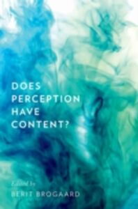 Ebook in inglese Does Perception Have Content? -, -