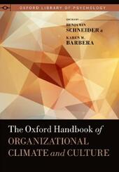 Oxford Handbook of Organizational Climate and Culture