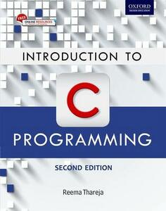 Introduction to C Programming - Reema Thareja - cover