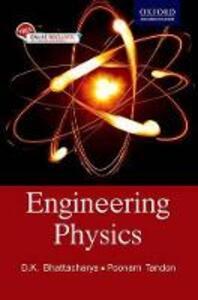 Engineering Physics - D. K. Bhattacharya,Poonam Tandon - cover