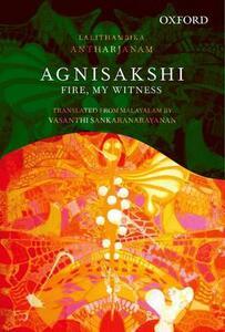 Agnisakshi - Lalithambika Antharjanam,Vasanthi Sankaranarayanan - cover