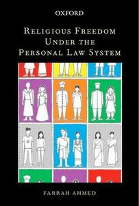 Religious Freedom under the Personal Law System - Farrah Ahmed - cover