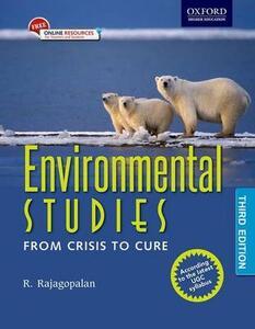 Environmental Studies: From Crisis to Cure - R. Rajagopalan - cover