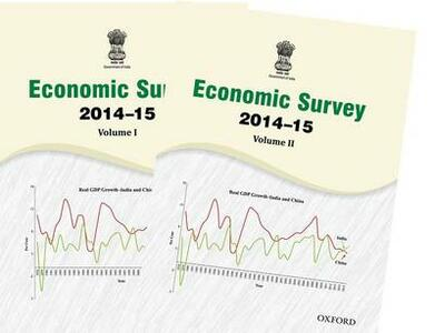 ECONOMIC SURVEY 2014-15 - Ministry of Finance, India - cover