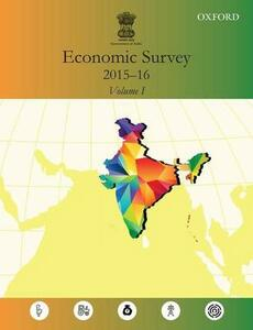 Economic Survey 2015-16 - Government of India, Ministry of Finance - cover