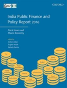 India Public Finance and Policy Report 2016: Fiscal Issues and Macro Economy - cover