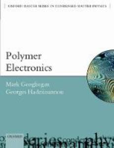 Polymer Electronics - Mark Geoghegan,Georges Hadziioannou - cover