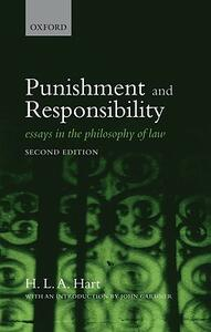 Punishment and Responsibility: Essays in the Philosophy of Law - H. L. A. Hart - cover