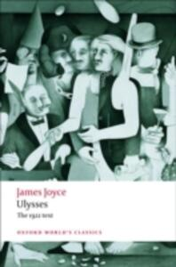 Ulysses - James Joyce - cover