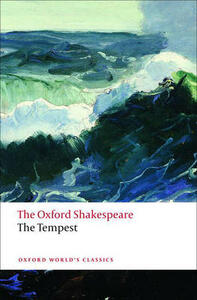 The Tempest: The Oxford Shakespeare - William Shakespeare - cover