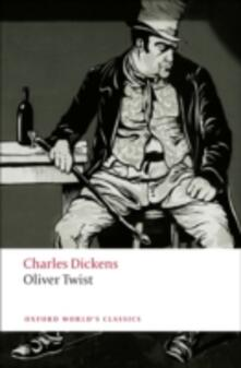Oliver Twist - Charles Dickens - cover