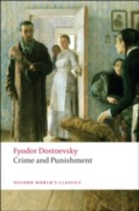 Crime and Punishment - Fyodor Dostoevsky - cover