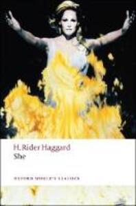 She - H. Rider Haggard - cover