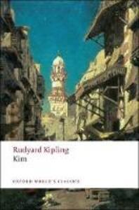 Kim - Rudyard Kipling - cover