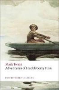Adventures of Huckleberry Finn - Mark Twain - cover