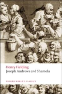 Joseph Andrews and Shamela - Henry Fielding - cover