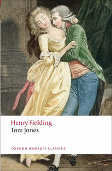 Tom Jones - Henry Fielding - cover