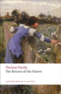The Return of the Native - Thomas Hardy - cover