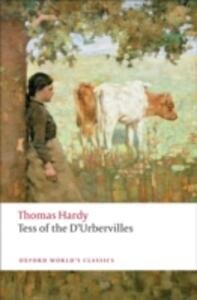 Tess of the d'Urbervilles - Thomas Hardy - cover
