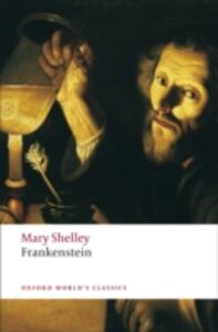 Frankenstein: or The Modern Prometheus - Mary Wollstonecraft Shelley - cover