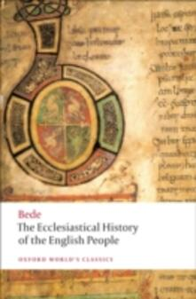 The Ecclesiastical History of the English People - the Venerable Saint Bede - cover