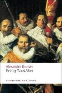 Twenty Years After - Alexandre Dumas - cover