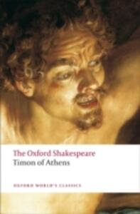 Timon of Athens: The Oxford Shakespeare - William Shakespeare - cover