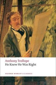 He Knew He Was Right - Anthony Trollope - cover