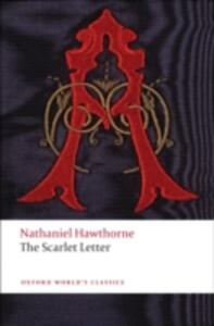 The Scarlet Letter - Nathaniel Hawthorne - cover