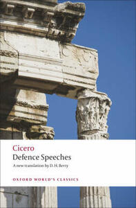Defence Speeches - Cicero - cover