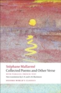Collected Poems and Other Verse - Stephane Mallarme - cover