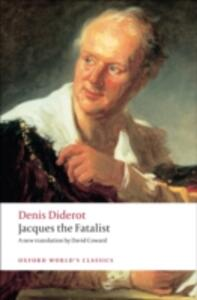 Jacques the Fatalist - Denis Diderot - cover