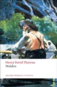 Walden - Henry David Thoreau - cover